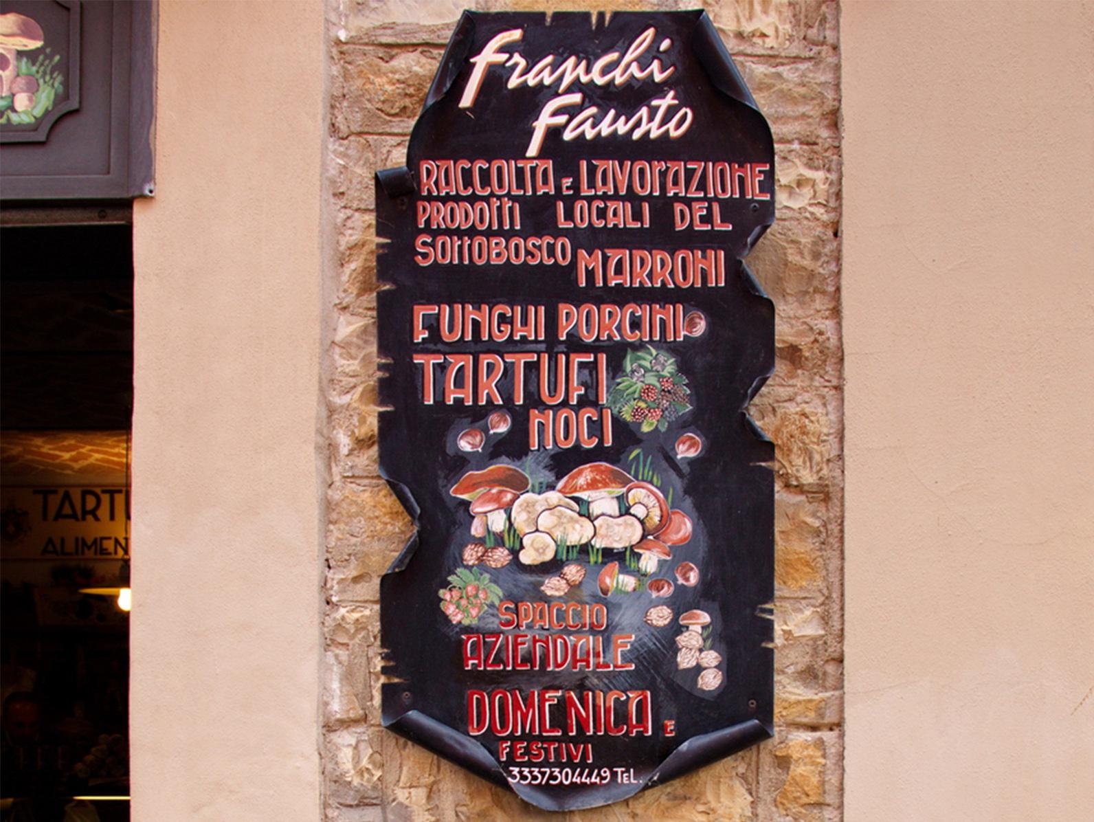 SAVIGNO FUNGHI E TARTUFI di Franchi Fausto