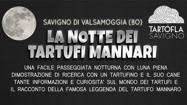LA NOTTE DEI TARTUFI MANNARI